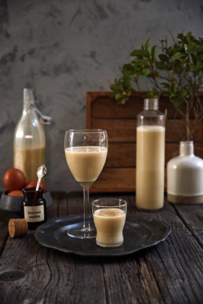 Vaječný likér s brandy