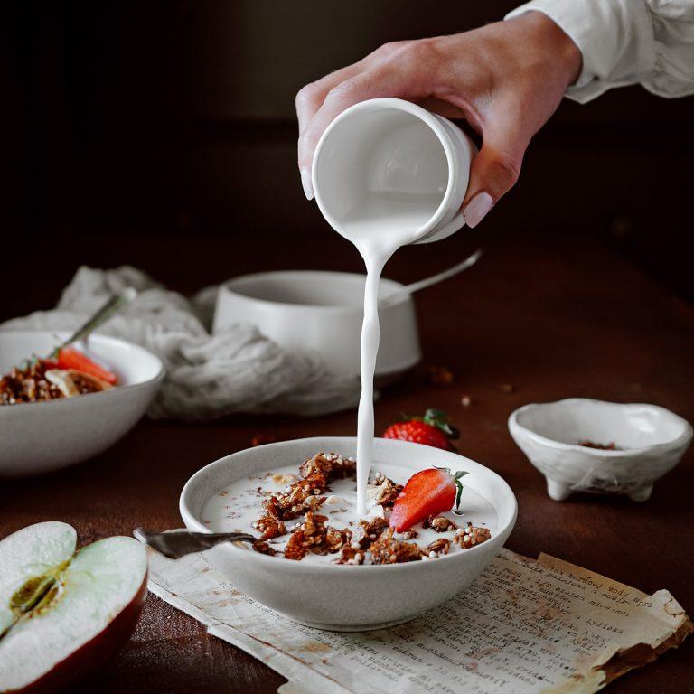 škoricová granola