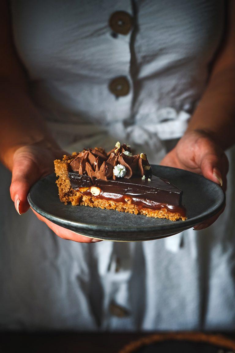 Snickers koláčik