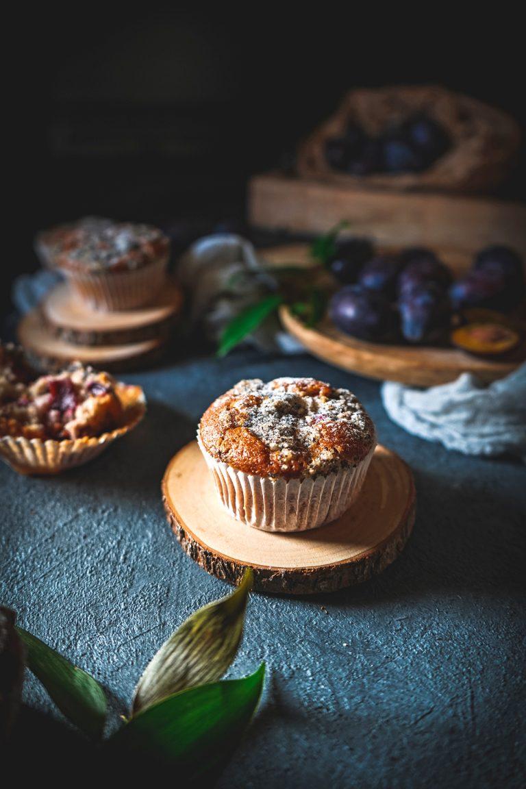 Šťavnaté Slivkové Muffiny