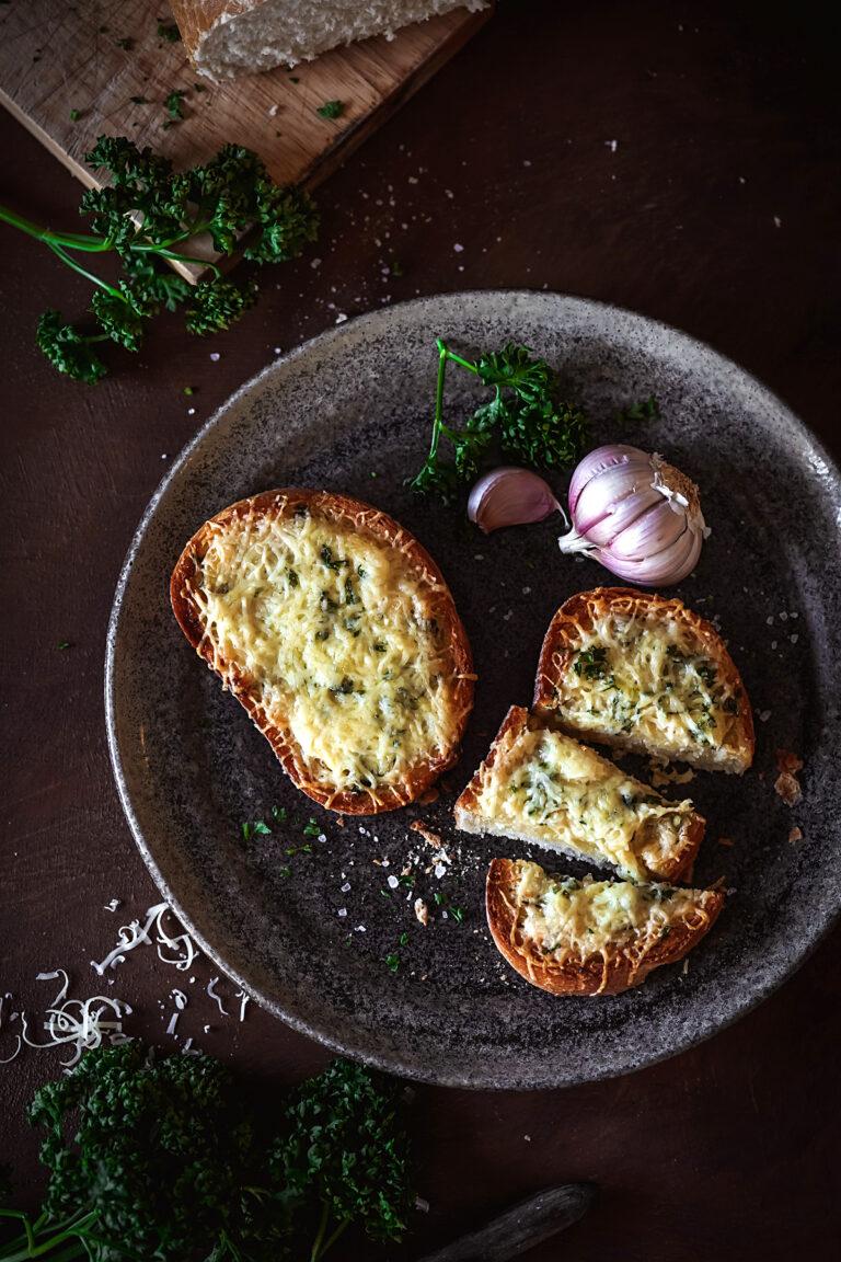 zapekané chlebíky so syrom