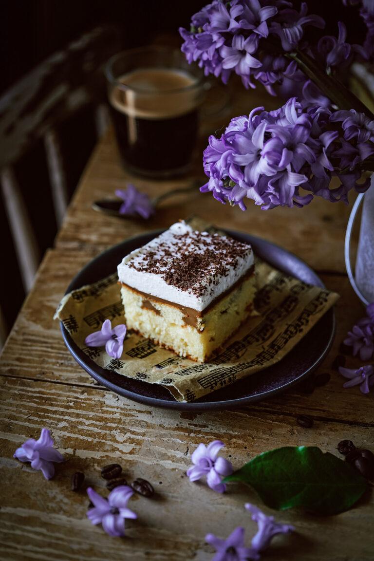 kávový koláčik